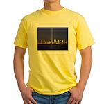 9 11 Tribute of Light Yellow T-Shirt