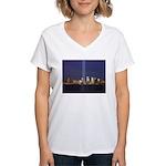 9 11 Tribute of Light Women's V-Neck T-Shirt