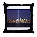 9 11 Tribute of Light Throw Pillow