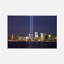 9 11 Tribute of Light Rectangle Magnet