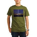9 11 Tribute of Light Organic Men's T-Shirt (dark)