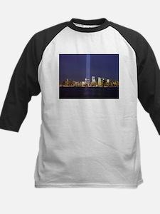 9 11 Tribute of Light Kids Baseball Jersey