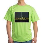9 11 Tribute of Light Green T-Shirt