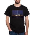 9 11 Tribute of Light Dark T-Shirt