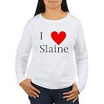 Support Slaine Women's Long Sleeve T-Shirt