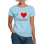 Support Slaine Women's Light T-Shirt