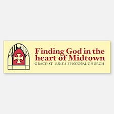 GSL Church Heart of Midtown Bumper Bumper Bumper Sticker