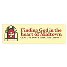GSL Church Heart of Midtown Bumper Bumper Sticker