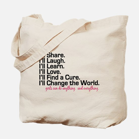Girls Can Do Anything Tote Bag