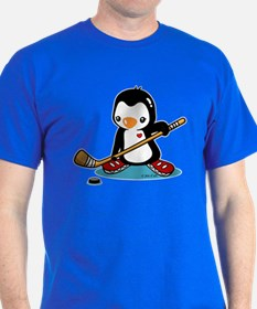 Ice Hockey Penguin T-Shirt