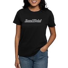 Speed Metal Cycling Logo Women's Black T-Shirt
