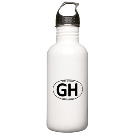 General Hospital - GH Oval Stainless Water Bottle
