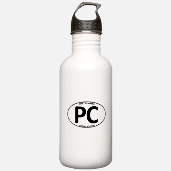 General Hospital - Port Charles PC Oval Water Bottle