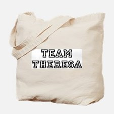 Team Theresa Tote Bag