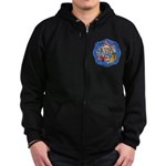 Rapid City Fire Department Zip Hoodie (dark)