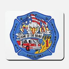 Rapid City Fire Department Mousepad