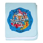 Rapid City Fire Department baby blanket