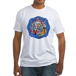 Rapid City Fire Department Fitted T-Shirt