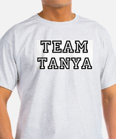 Team Tanya Ash Grey T-Shirt