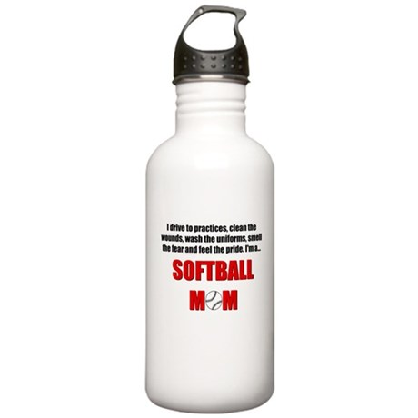 Softball Mom Stainless Water Bottle 1.0L
