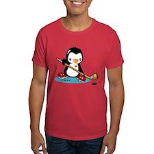 Popo Plays Ice Hockey T-Shirt
