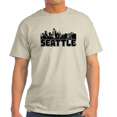 Seattle Skyline Light T-Shirt
