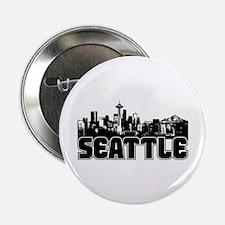 "Seattle Skyline 2.25"" Button"