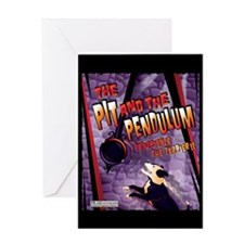 The Pit and The Pendulum Greeting Card