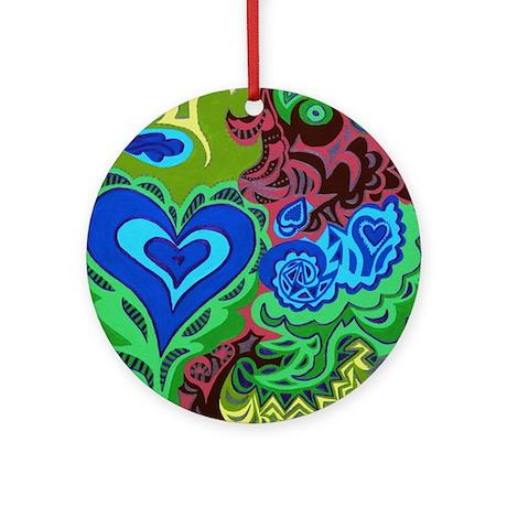 Tuesdays Blue Ornament (Round)