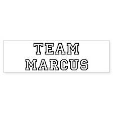 Team Marcus Bumper Bumper Sticker