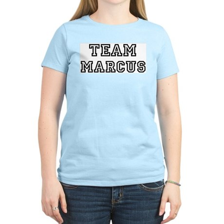 Team Marcus Women's Pink T-Shirt