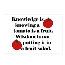 Tomato Fruit Salad Postcards (Package of 8)