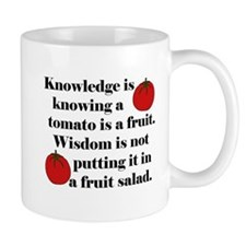 Tomato Fruit Salad Mug