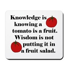 Tomato Fruit Salad Mousepad