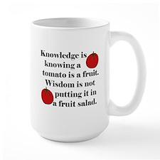 Tomato Fruit Salad Mug