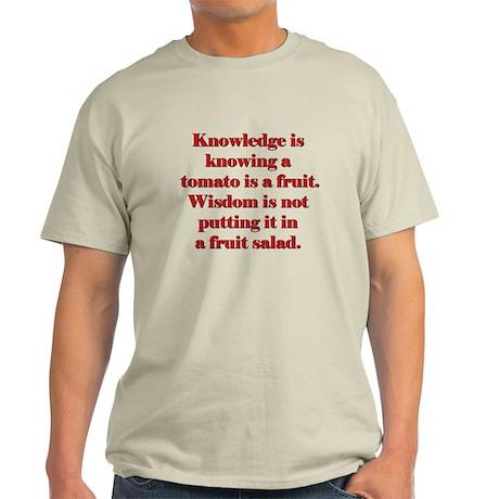 Tomato Fruit Salad Light T-Shirt
