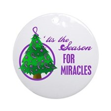 SeasonMiraclesCancer Ornament (Round)