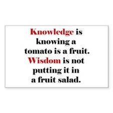 Tomato Knowledge Decal