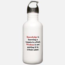 Tomato Knowledge Water Bottle