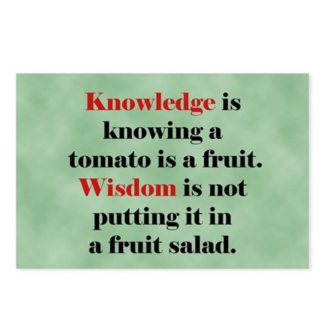 Tomato Knowledge Postcards (Package of 8)