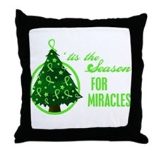 SeasonMiraclesCancer Throw Pillow