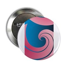 """Big Pink Wave 2.25"""" Button (10 pack)"""