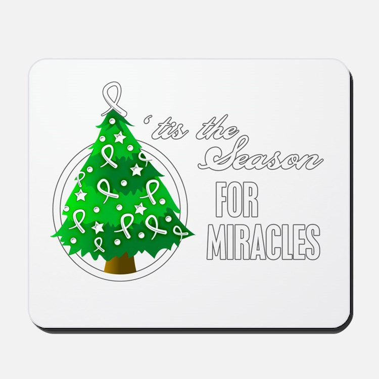 SeasonMiraclesCancer Mousepad