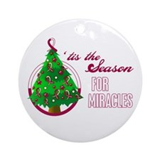 SeasonMiraclesCancer Ornament (Round)