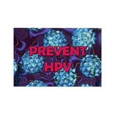 Prevent HPV Rectangle Magnet