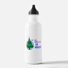 SeasonMiraclesCancer Water Bottle