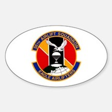 36th Airlift Squadron Oval Decal