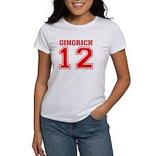 Newt Gingrich 2012 Tee