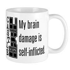 Quips: Brain Damage Mug