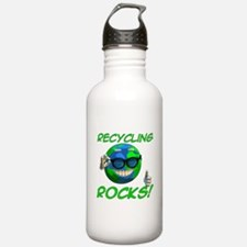Recycling Rocks! Water Bottle